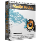 Media Buddy lets you convert audio and video to a variety of media formats, making it possible to play any file on virtually any piece of hardware.