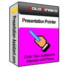 Presentation Pointer is an amazing tool that helps you retain and direct your audience's attention during presentations and demonstrations by highlighting your cursor and actions.