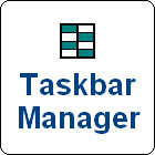 If you often find your Windows taskbar cluttered with open windows and applications, Taskbar Manager is the desktop management utility you need.