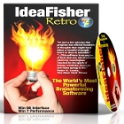 IdeaFisher Retro7 Brainstorming Software is a  unique tool to boost creative thinking, giving you a thesaurus, a notepad, and questions designed to spark your creativity.