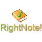 RightNote lets you organize volumes of information in notebooks, each with a hierarchical tree of notes that makes it easy to sort and find information quickly.