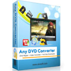 Any DVD Converter Pro lets you rip DVDs to multiple video file formats, plus lets you convert existing digital files between formats.