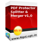 PDF Protector, Splitter and Merger gives you the power to encrypt, split, and merge multiple PDF files in batch.