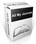 All My Journals lets you record your thoughts and impressions across multiple journals using a very simple and accessible interface.
