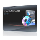 Any DVD Cloner Express lets you create backup copies of DVD movies, storing them in DVD folders, as ISO files, or as complete backup discs.