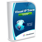 Visual IP Trace lets you trace IP addresses and websites back to their geographic location, giving you the power to stop hackers, verify customer addresses, and more.