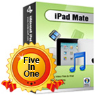 4Videosoft iPad Mate offers everything you need to convert and manage DVD video and reading material on your iPad.