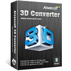 Aiseesoft 3D Converter lets you convert videos from 2D to 3D and back again, with full support for the most popular video formats.