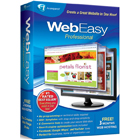 WebEasy Professional 10 lets you create your own website using drag-and-drop simplicity, in just three easy steps.