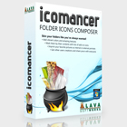 Icomancer lets you customize your Windows folders with colors, textures, pictures, and more, with the ability to share creations with others online.