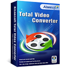 Aiseesoft Total Video Converter lets you convert video files to any number of popular file formats, plus extract audio from videos in a wide variety of audio formats.