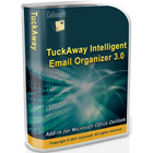 TuckAway Intelligent Email Organizer plugs into Microsoft Outlook and lets you predictively organize messages into folders in just a click.