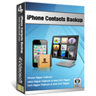 4Videosoft iPhone Contacts Backup lets you transfer, manage, and restore your iPhone contacts and text messages using iTunes and your computer.