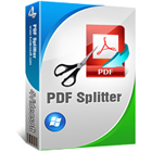 4Videosoft PDF Splitter lets you easily split large PDF files into smaller segments, with fine control over how the file is split and several additional features.