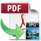PDF to JPG lets you convert PDF files to a variety of image file formats, with support for multiple image processing in batch.