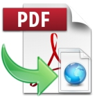 PDF to HTML lets you quickly convert PDF files into HTML pages, with support for conversion of multiple files in batch.