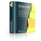 NoteZilla is an elegant  Sticky Notes software for Windows. Create virtual sticky notes on your Desktop, on webpages... even organize them in folders!