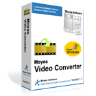 Moyea Video Converter is a powerful program that supports conversion among almost all popular video and audio formats.