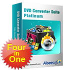 Aiseesoft DVD Converter Suite Platinum lets you rip, convert, and create DVD content, and makes it easy to put DVD movies onto your iPhone.