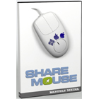 ShareMouse lets you share a mouse and keyboard with multiple networked Mac and PC computers, plus adds drag and drop file transfers and clipboard sharing.