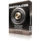 Photomizer Retro lets you apply old camera and black and white film effects to your digital photos, making them look vintage.
