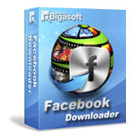 Bigasoft Facebook Downloader lets you download videos from Facebook and convert them to other formats for offline enjoyment.