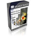 Reshade Image Enlarger Lite lets you resize your images without losing picture quality or detail.