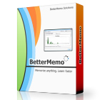BetterMemo makes it easy to remember facts, names, numbers, and other information, through spaced repetition learning.