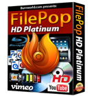 FilePop HD Platinum lets you create, copy, convert, and rip Blu-ray and DVD video content, all in one package.