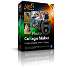 Photo Collage Maker PRO lets you create stunning collages quickly using over 100 included templates in a variety of styles and themes.