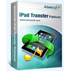 Aiseesoft iPad Transfer lets you transfer content between your iPad and computer, and between different iOS devices, without using iTunes.