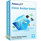 Aiseesoft iTunes Backup Genius helps you to recover data from iTunes backup files for all of your iOS devices, without running iTunes.