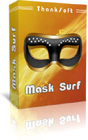 Mask Surf Pro lets you surf the Internet completely anonymously, without requiring any complex configurations or steep learning curves.