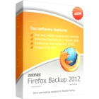 Firefox Backup 2012 lets you back up and recover your Firefox profile, getting you up and running quickly after a crash or with new hardware.