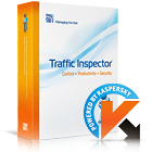 Traffic Inspector + Kaspersky Gate Antivirus gives you unprecedented control over network security, web access, and traffic analysis, while protecting you from malicious web and email activity.