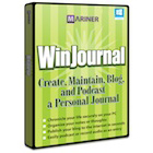 WinJournal is a superb journaling application that lets you keep text entries enhanced by digital images, files, and audio clips.
