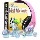 Boilsoft Audio Converter lets you extract and convert audio to a wide variety of popular audio file formats, enabling playback on multiple platforms.