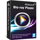4Videosoft Blu-ray Player lets you play all Blu-ray movies on your PC, as well as Blu-ray folders and ISO files off of your hard drive.