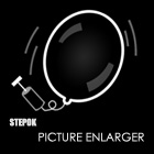 Stepok Picture Enlarger lets you enlarge your pictures using a unique algorithm that preserves curves and detail.