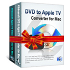 4Videosoft Apple TV Converter Suite for Mac consists of two professional conversion programs that let you transform DVDs and videos to files compatible with your Apple TV.