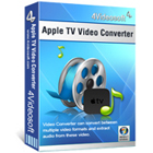 4Videosoft Apple TV Video Converter lets you convert all video and audio files to formats that play back on your Apple TV, iPhone, iPad, and iPod.
