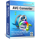 4Videosoft AVC Converter lets you easily convert a variety of video file formats to the AVC H.264 format, while editing your clips to meet your preferences.