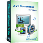 4Videosoft AVI Converter for Mac lets you convert any video file to AVI and HD AVI formats for playback on your Mac.