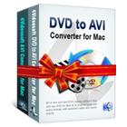 4Videosoft AVI Converter Suite for Mac lets you convert DVDs and other video sources to AVI files on your Mac.