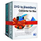 4Videosoft BlackBerry Converter Suite for Mac lets you convert any DVD or video file into video and audio formats for playback on Blackberry platforms.