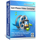 4Videosoft Cell Phone Video Converter lets you convert audio and video files to formats that are perfectly compatible with your cell phone.
