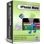 4Videosoft iPhone Mate is a collection of five tools to convert video content, transfer files, manage SMS messages and create ringtones.