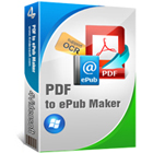 4Videosoft PDF to ePub Maker lets you convert PDF files to ePub format, for easy reading on eBook readers and Apple gear.