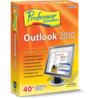 Professor Teaches Outlook 2010 teaches you everything there is to know about Microsoft Outlook, using simulations, self-paced learning, interactive exercises, and professional voice narration.