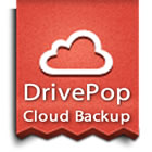 DrivePop Online Backup is the easiest way to backup, store, and share your files online.